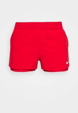 SHORT - Sports shorts - university red/white