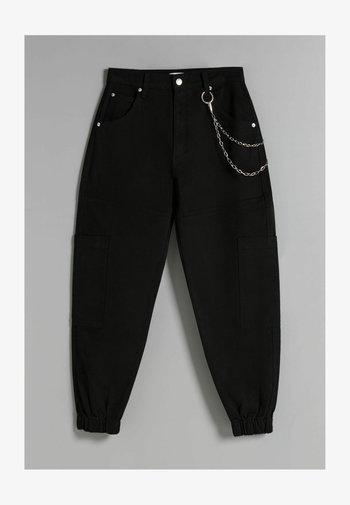 MIT KETTE - Cargo trousers - black