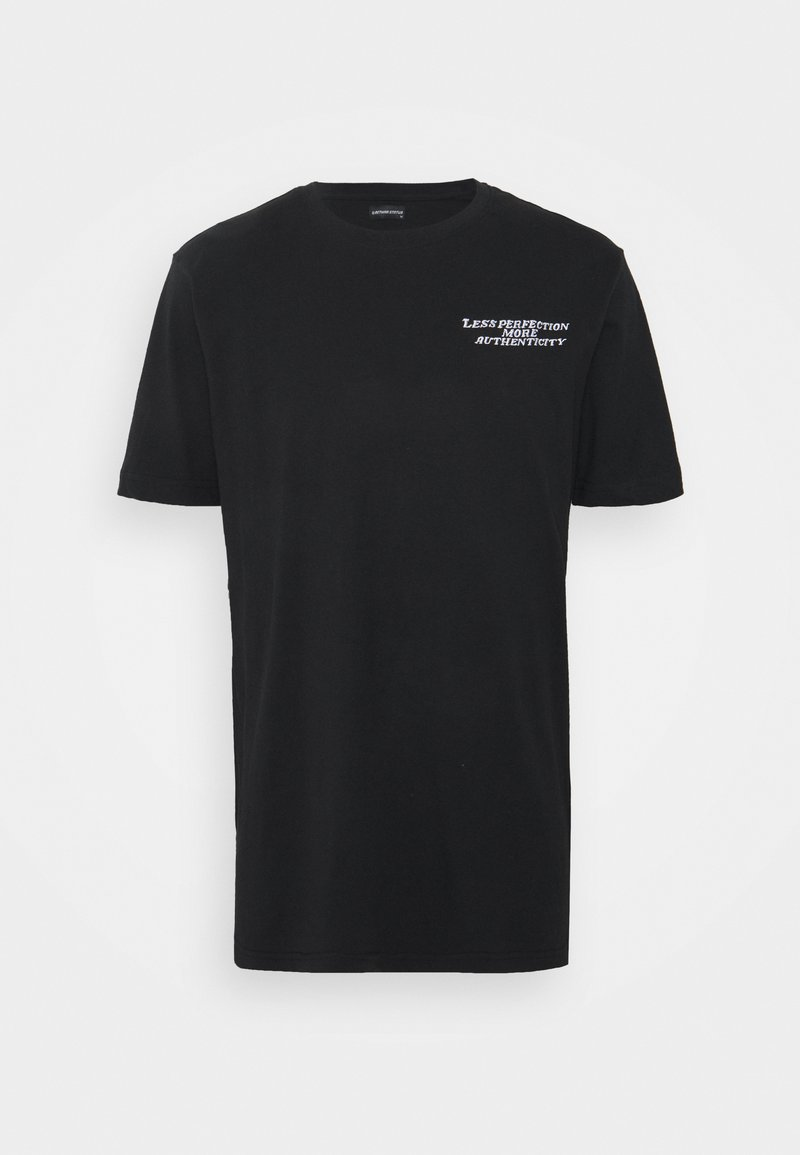 RETHINK Status - UNISEX OVERSIZED  - Print T-shirt - black