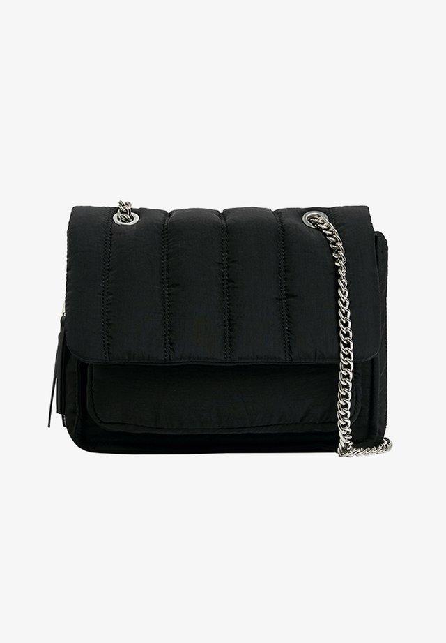GESTEPPTE UMHÄNGE - Handbag - black