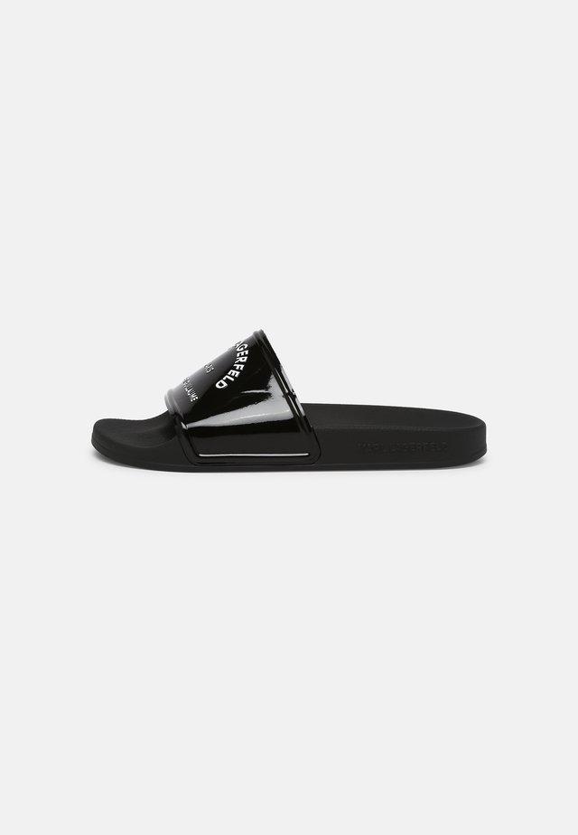 KONDO - Pantofle - black