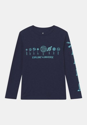 FLASH - Long sleeved top - tapestry navy