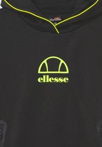 Ellesse - EDENI HOODY UNISEX - Long sleeved top - black - 2