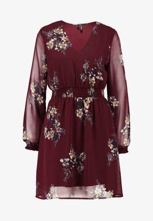VMALLIE SHORT SMOCK DRESS - Day dress - winetasting