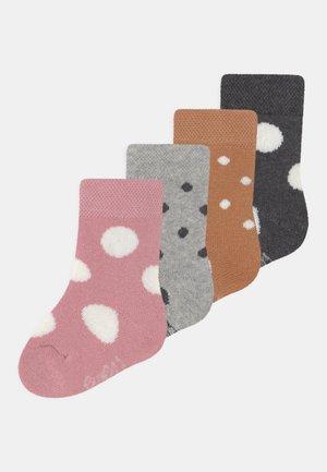 SPOTTY 4 PACK UNISEX - Socks - multi-coloured