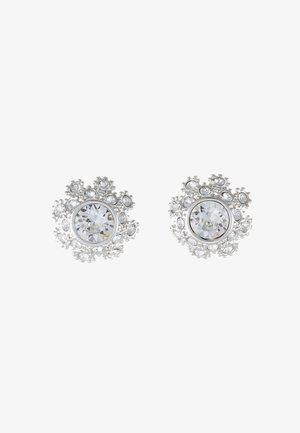 SERAA DAISY STUD EARRING - Náušnice - silver-coloured/crystal
