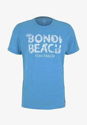 Print T-shirt - aquarius turquoise