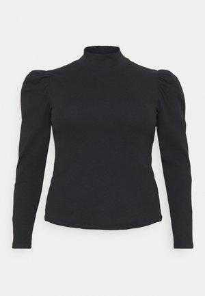 PCANNA  - Top sdlouhým rukávem - black
