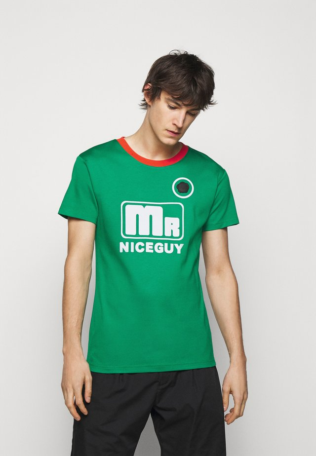 MR NICEGUY - T-shirt print - green