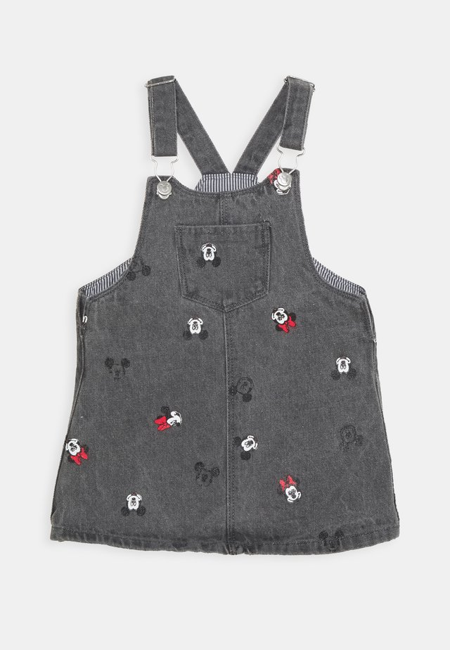 SALOPETTE MINNIE - Robe en jean - jet black