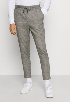 ONSLINUS LIFE CHECK  - Trousers - medium grey melange