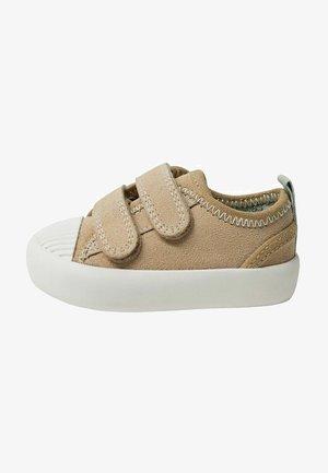 Lära-gå-skor - sandfarben