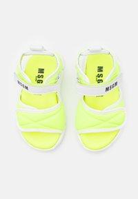 MSGM - UNISEX - Sandals - neon yellow - 3