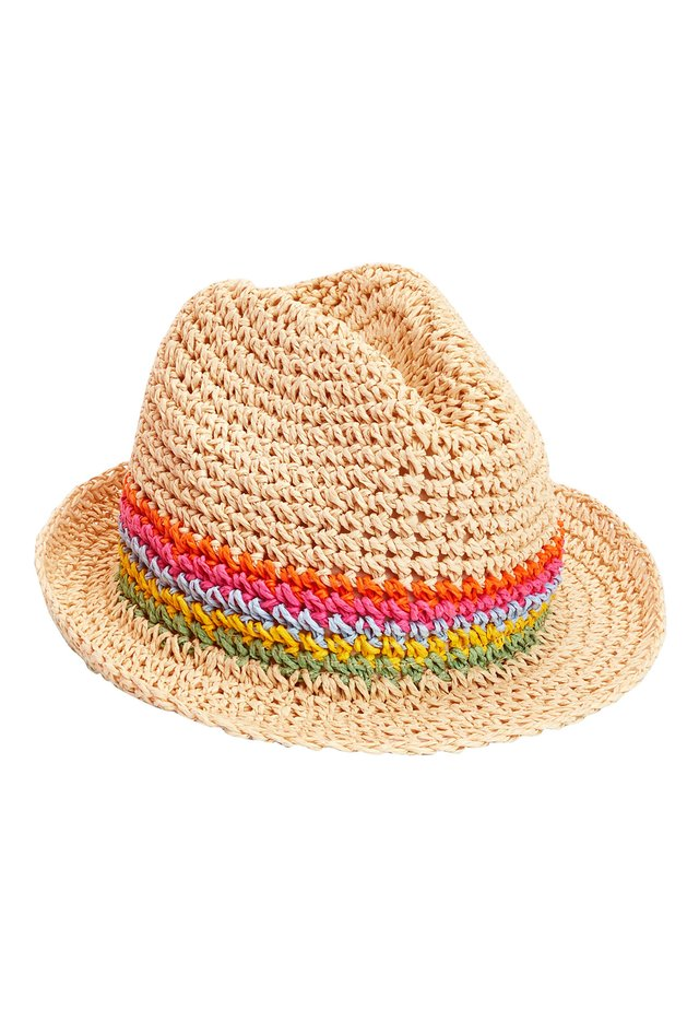 NATURAL RAINBOW TRILBY (YOUNGER) - Klobouk - beige