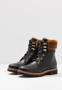 Panama Jack - PANAMA IGLOO BROOKLYN - Lace-up ankle boots - black - 4
