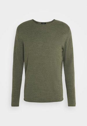 SLHDOME CREW NECK - Maglione - agave green melange