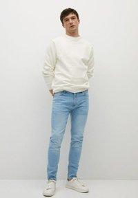 Mango - Slim fit jeans - hellblau - 1