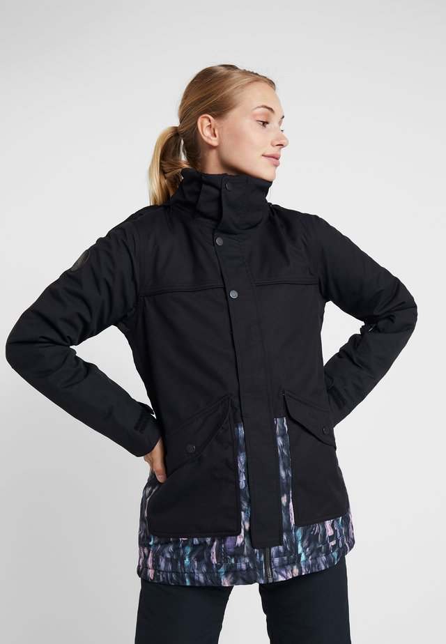ASTER JACKET - Laskettelutakki - midnight