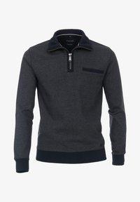 Casamoda - Zip-up sweatshirt - blue - 0