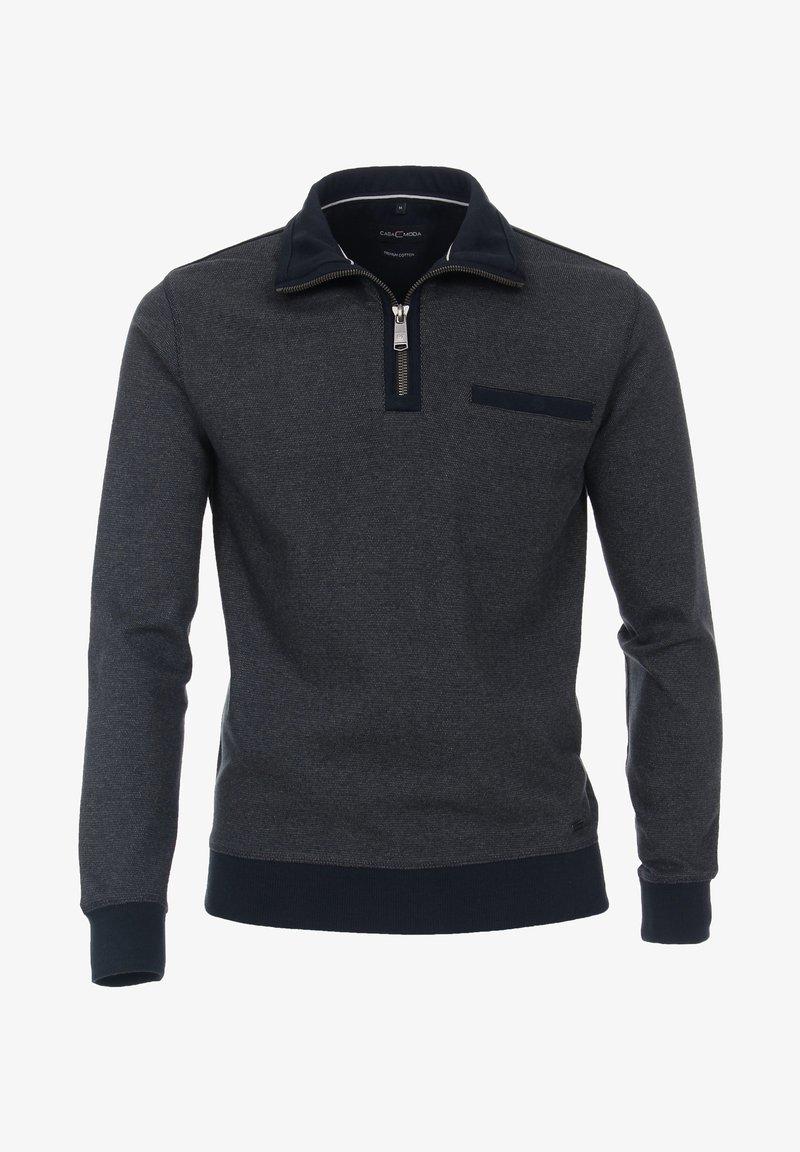 Casamoda - Zip-up sweatshirt - blue