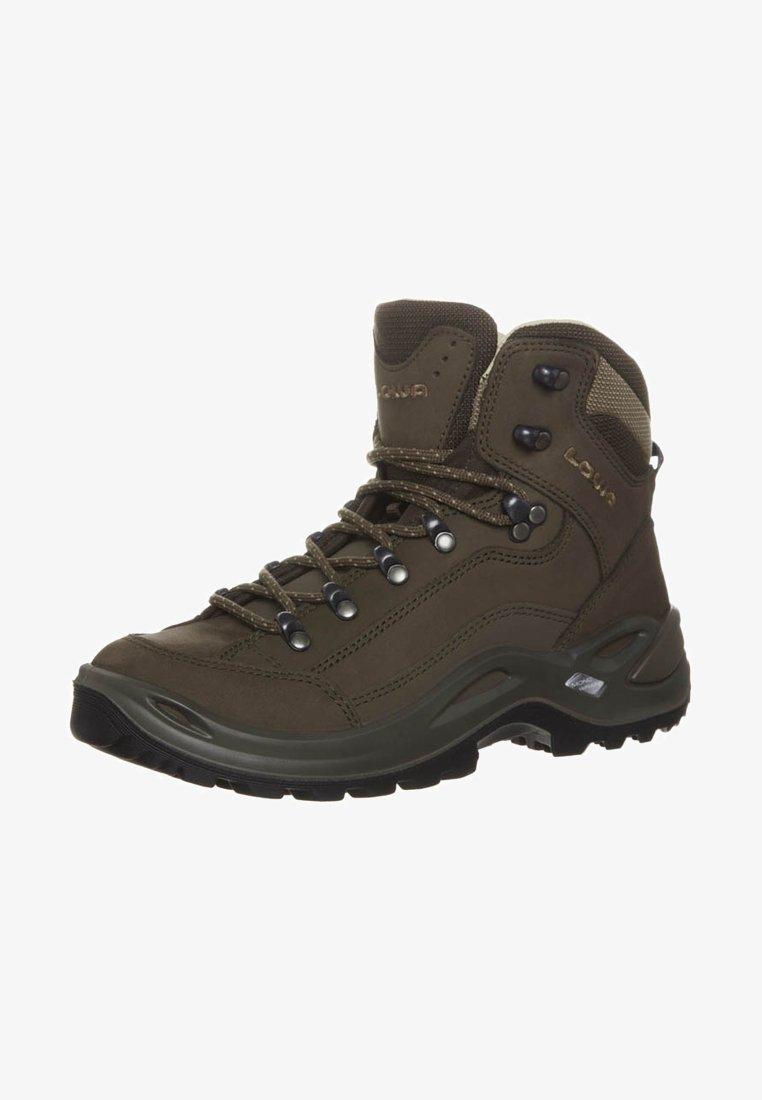 Lowa - RENEGADE LL MID - Hiking shoes - braun