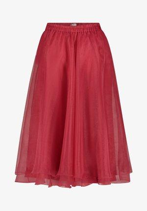 Jupe trapèze - bright raspberry