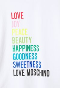 Love Moschino - Print T-shirt - optical white - 2