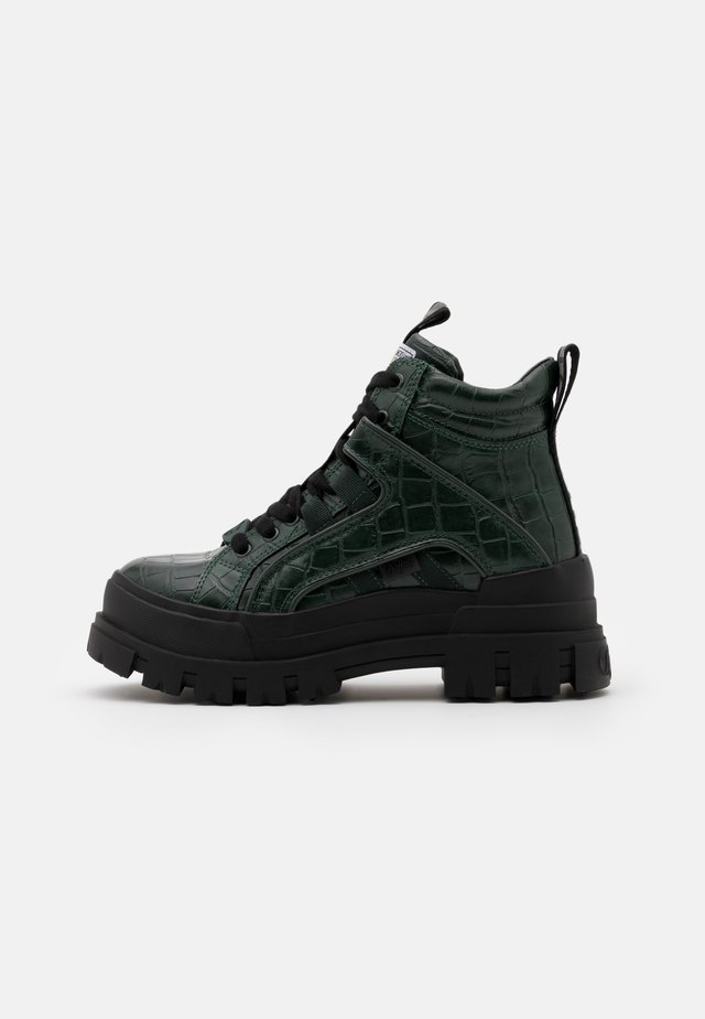 ASPHA MID - Ankle boot - green