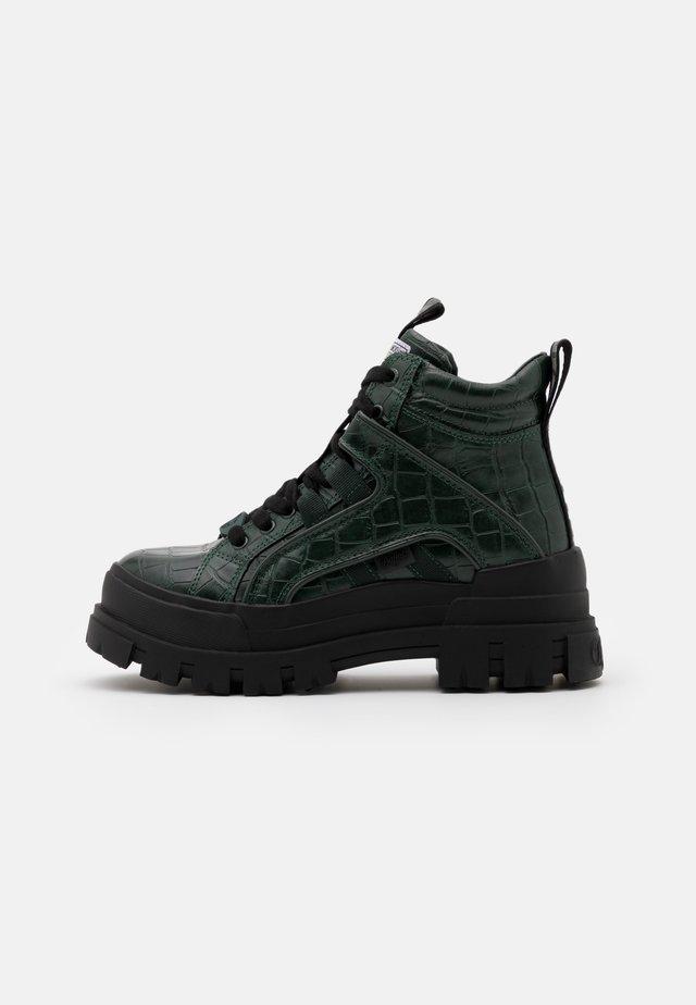 ASPHA MID - Boots à talons - green