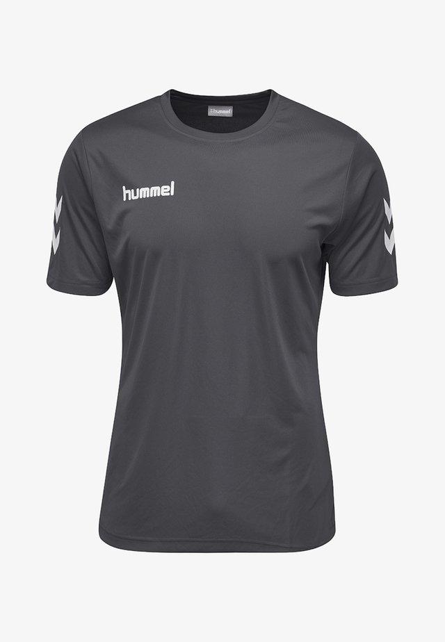 CORE  - T-shirt print - grey