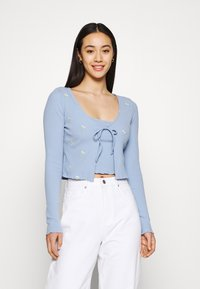 Cotton On - VIOLETTA TWIN 2-IN-1 - Top - amy embroidery blue - 0