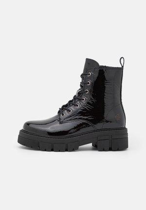 CASTLE - Lace-up ankle boots - black