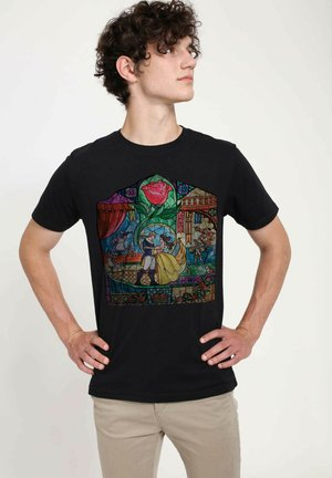 DISNEY - T-shirts print - black