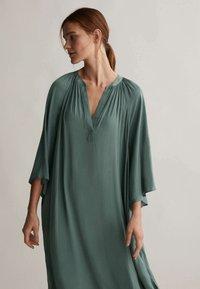 OYSHO - KAFTAN - Day dress - khaki - 2