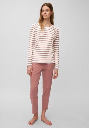 CREW NECK SET - Pyjama set - rot