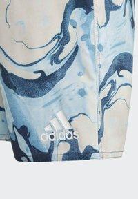 adidas Performance - WAVEBEAT - Swimming shorts - blue - 2