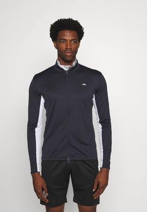 ALEX GOLF MID LAYER - Zip-up sweatshirt - navy