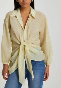 River Island - Button-down blouse - yellow - 0