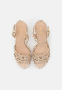 Anna Field - LEATHER - High heeled sandals - gold - 5