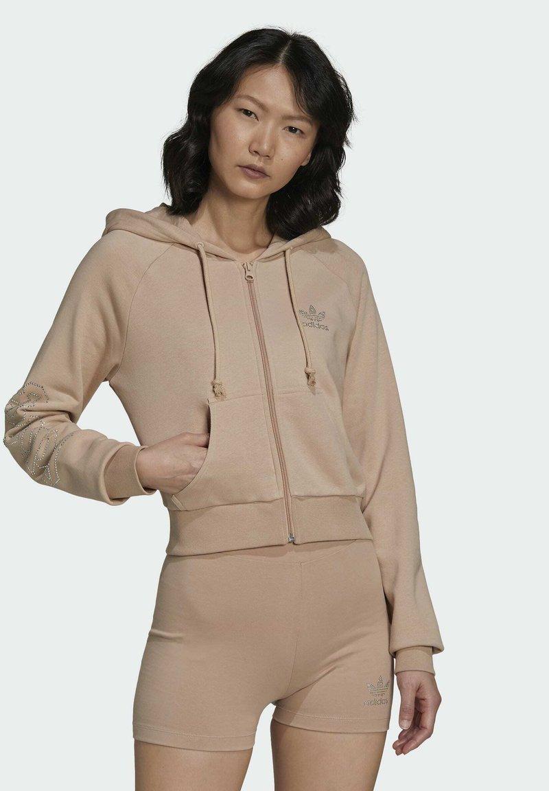 adidas Originals - Zip-up sweatshirt - beige