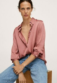 Mango - IDEALE - Overhemdblouse - pink - 3