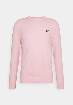 CREW NECK JUMPER - Maglione - light pink
