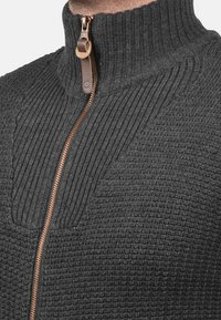 Solid - TRISTAN - Cardigan - dark grey - 2