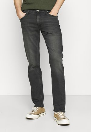 DAREN ZIP FLY - Jeans straight leg - grey denim/grey/light grey