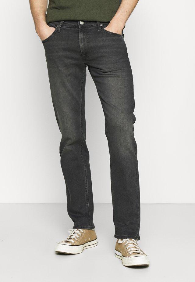 DAREN ZIP FLY - Jeans a sigaretta - grey denim/grey/light grey