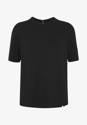 KUMI - Basic T-shirt - black