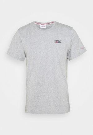 REGULAR CORP LOGO CNECK - T-shirt basique - grey heather