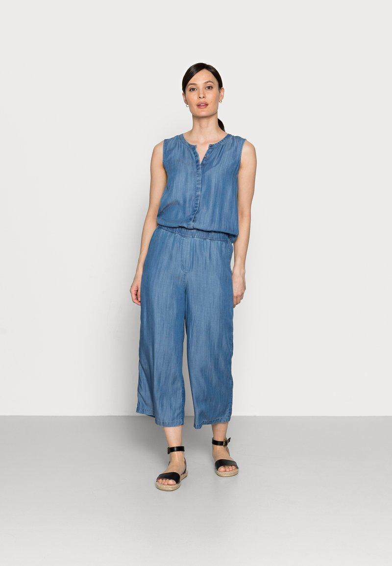 edc by Esprit - Jumpsuit - blue medium wash