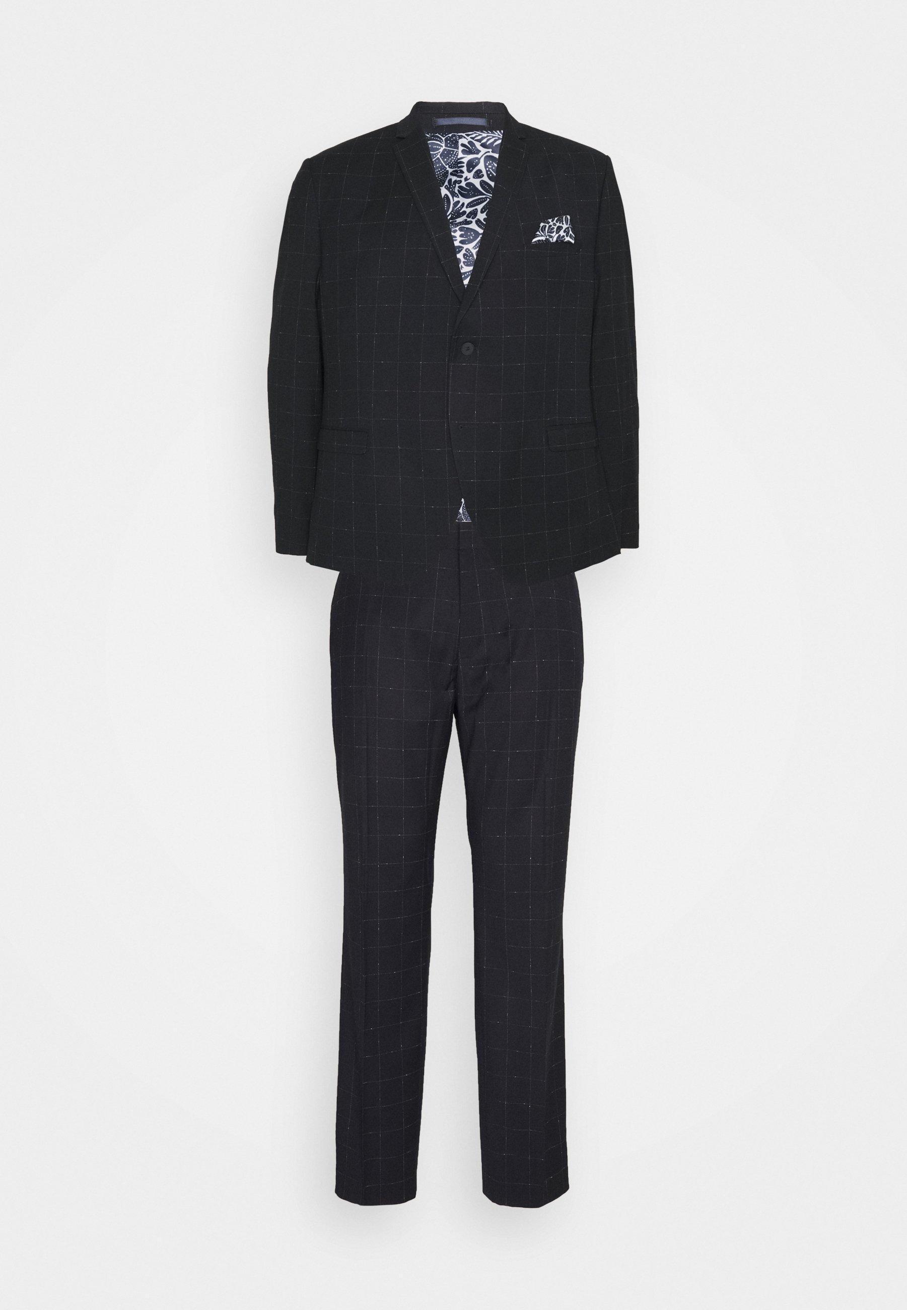 Homme WINDOWPANE SUIT PLUS - Costume