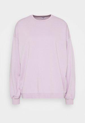 OVERSIZED SUPER SLOUCH CREW - Bluza - frosty lilac